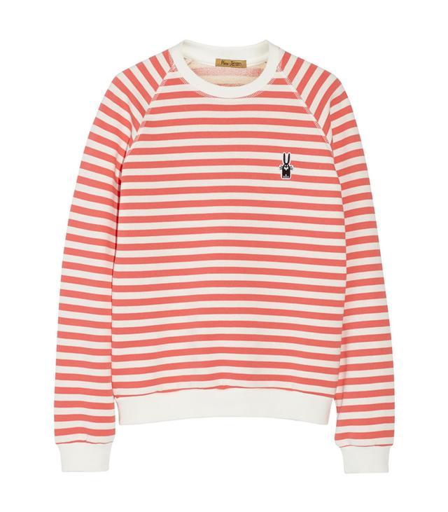 Peter Jensen Mariner Striped Cotton Sweatshirt