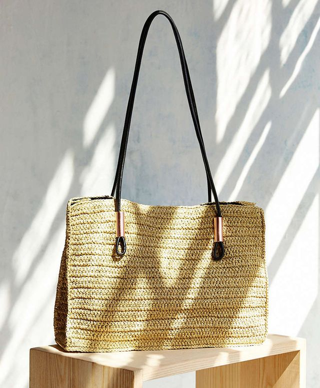 Urban Outfitters Straw Rope Tote Bag