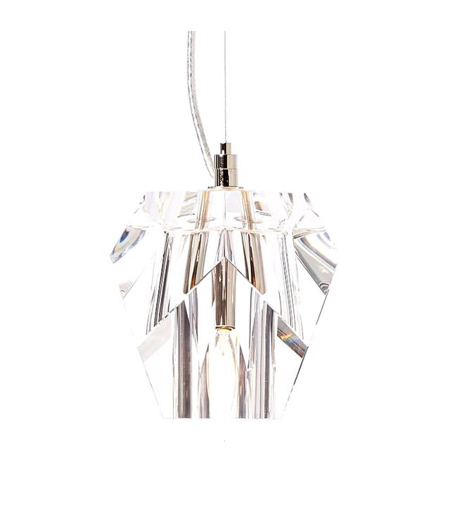 West Elm Crystal Pendant