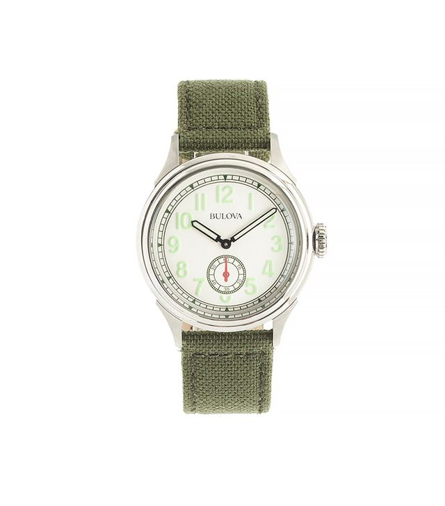 Bulova for J.Crew Air Warden Watch