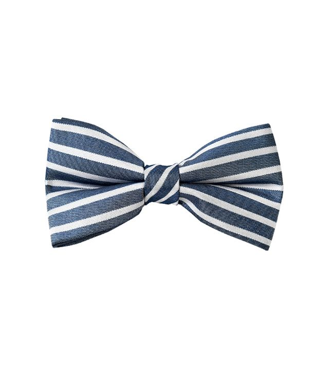 The Tie Bar Unity Stripe Bowtie