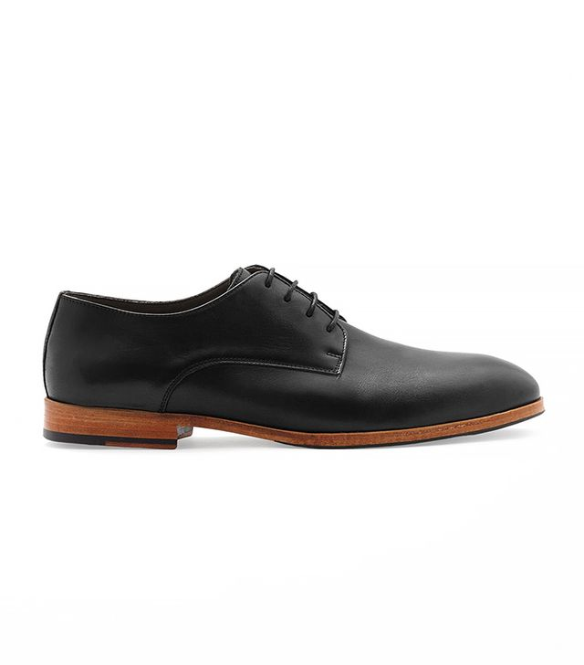 Cos Lace-Up Leather Shoes