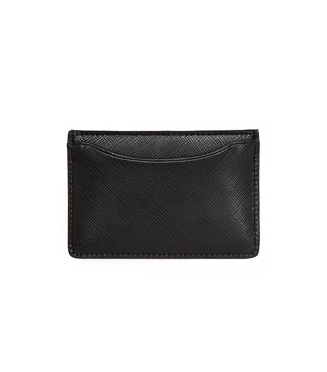 Jack Spade Wesson Leather Credit Card Wallet