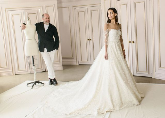 The First Wedding Dress From Oscar de la Renta's New Creative Director
