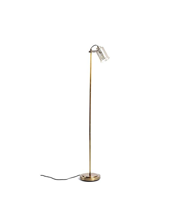 Urban Outfitters Celia Mercury Glass Floor Lamp