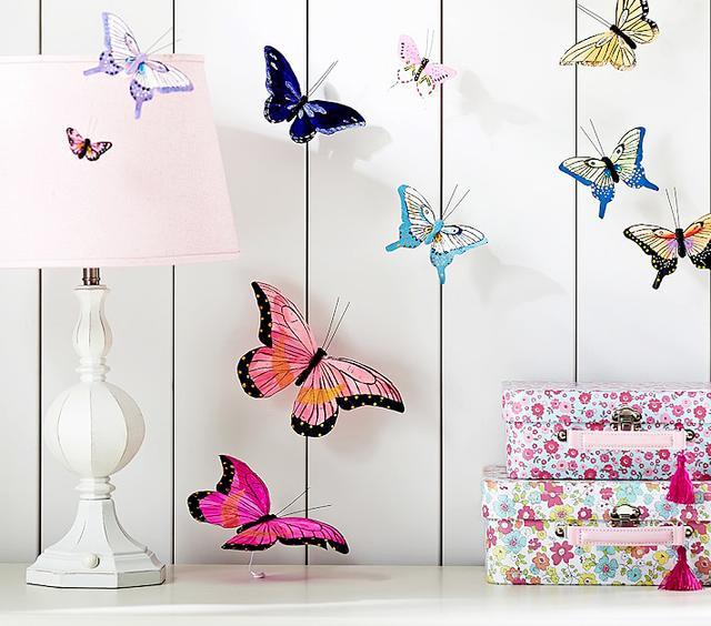 Jenni Kayne x Pottery Barn Kids Feather Butterfly Stick Ons