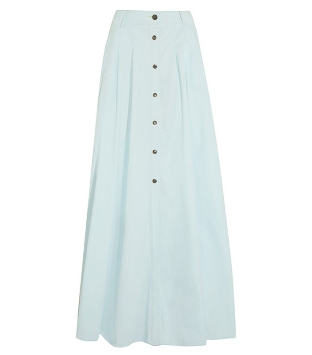 Pierre Balmain Denim Maxi Skirt