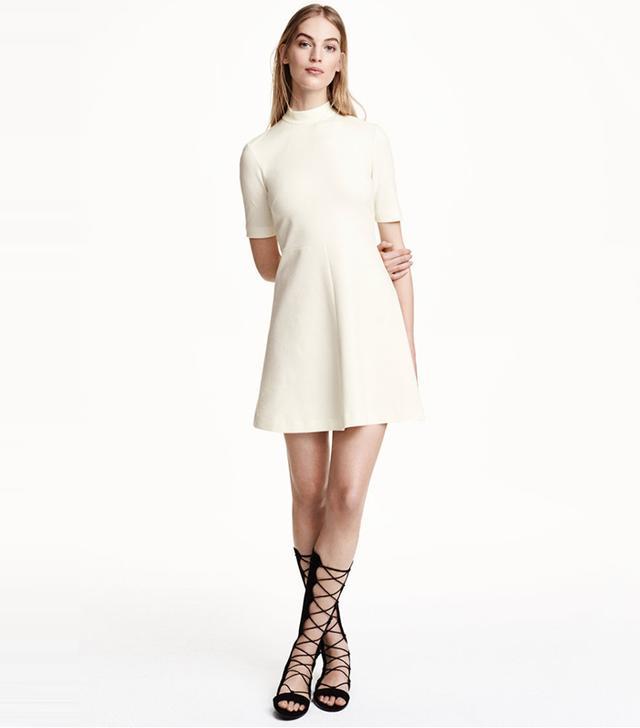 H&M Textured Dress