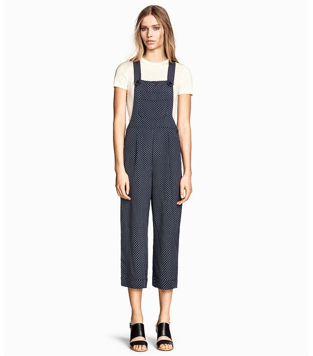 H&M Patterned Bib Overalls