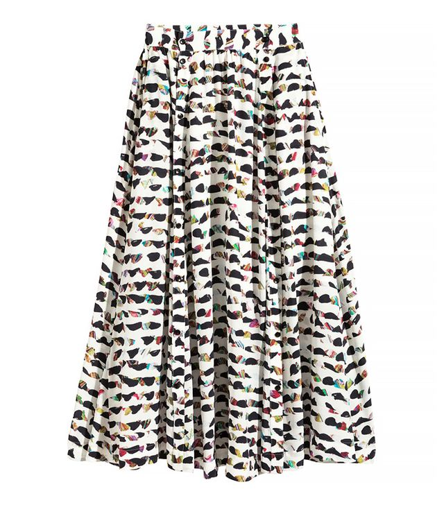 H&M Patterned Skirt