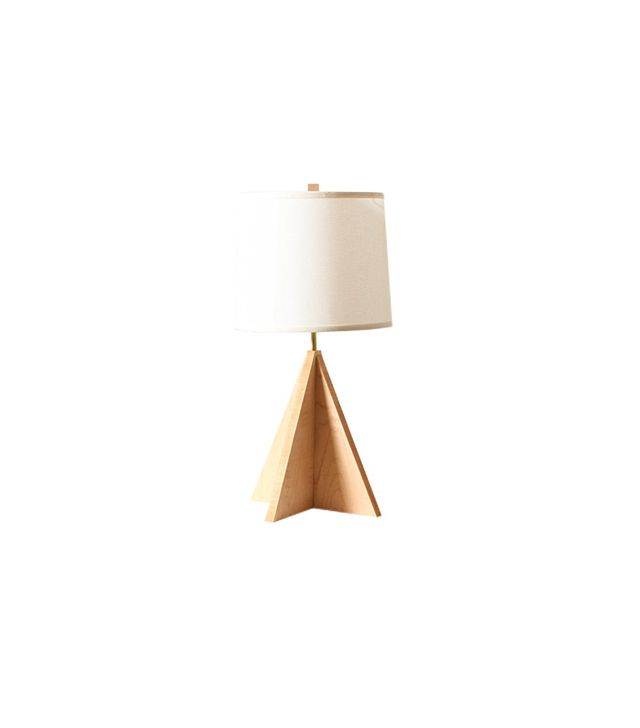 Worleys Lighting Walnut Arrow Lamp