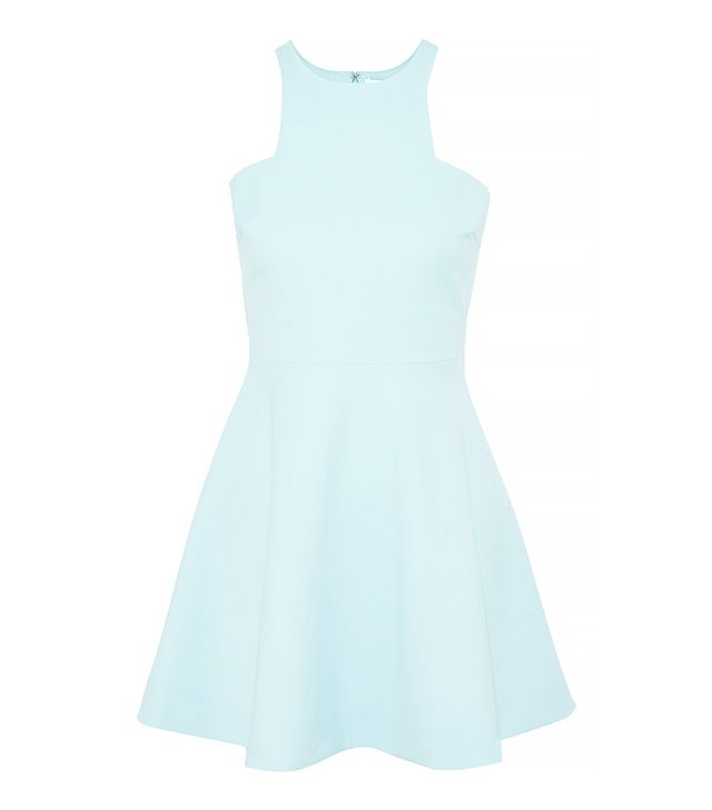 Elizabeth and James Clarissa Stretch-Crepe Mini Dress