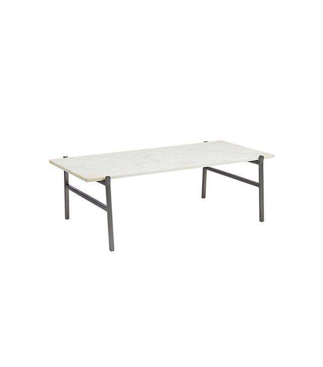 CB2 Slab Marble Coffee Table
