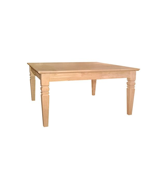 International Concepts Unfinished Wood Java Coffee Table