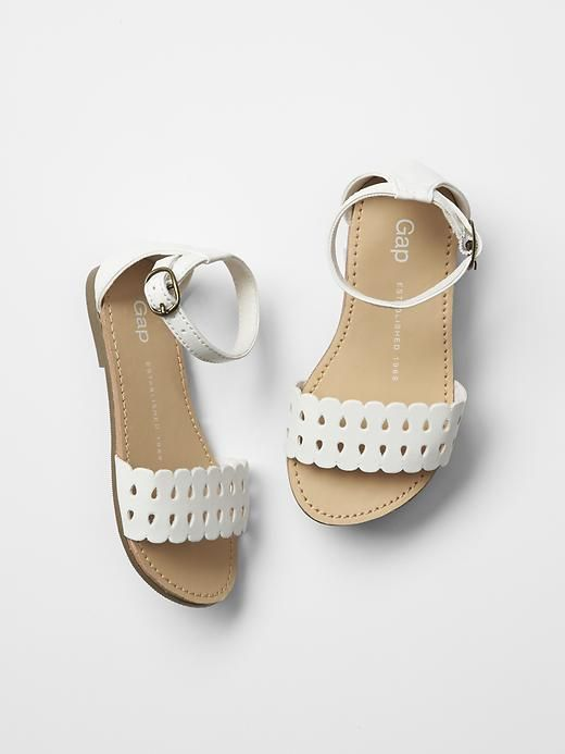 Gap Kids Scalloped Sandals