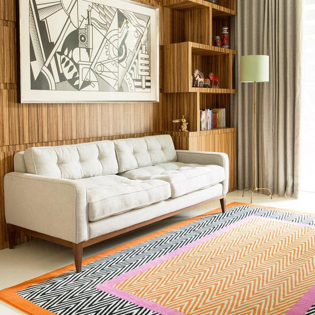 Jonathan Saunders' Rug Collection Is Kaleidoscopic Magic