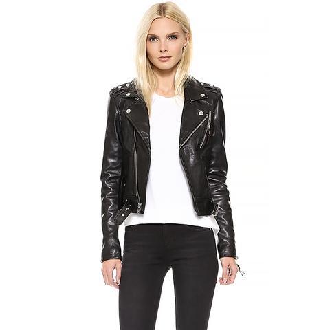 Leather Jacket 1, Black
