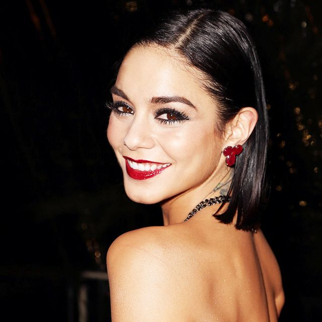 Vanessa Hudgens Makes a Backless Maxi Dress Work During the Day