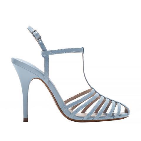 High Heel T-Bar Shoes