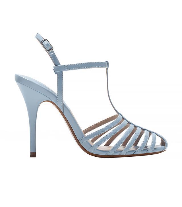 Zara High Heel T-Bar Shoes