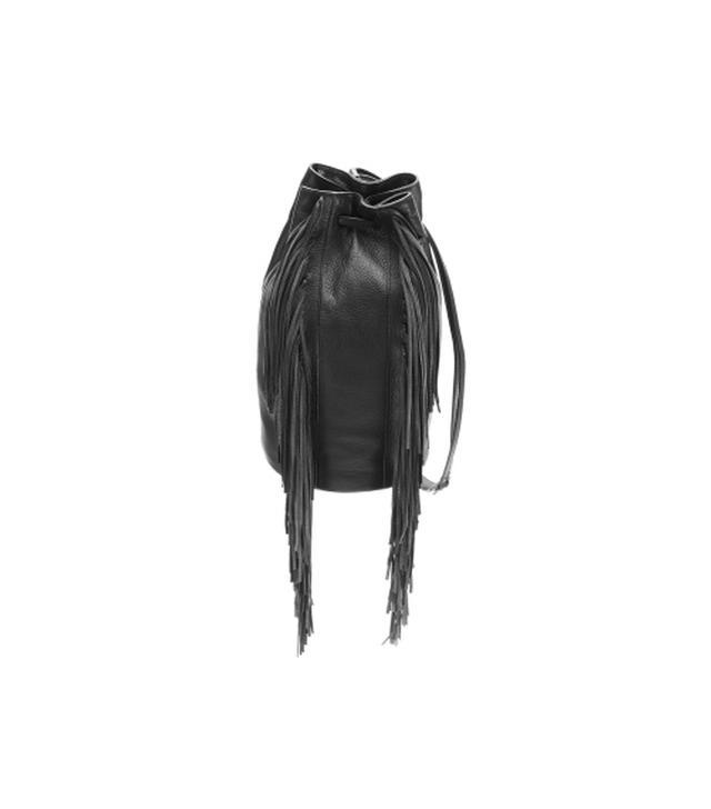 Kenneth Cole New York Prince Street Leather Fringe Sling Bag