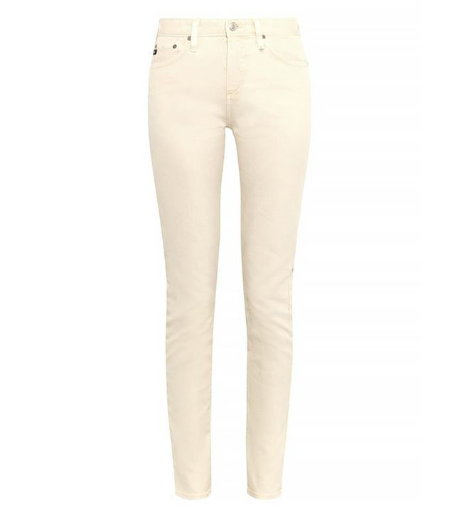 Alexa Chung x AG Jeans Briana High-Rise Skinny Jeans