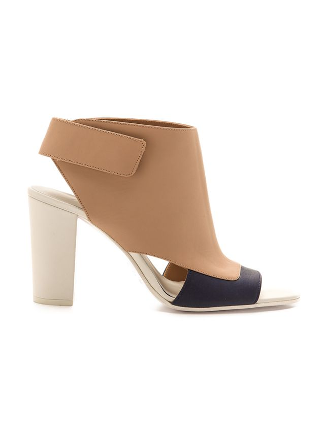 Vince Agatha Open Toe Booties