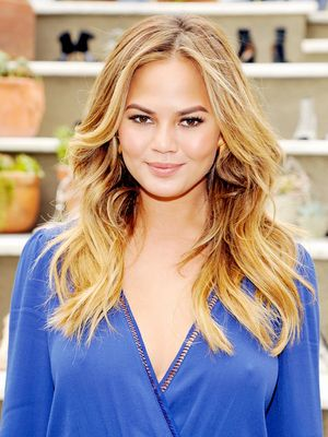 Must-Have: Chrissy Teigen's Satin Summer Trench Coat