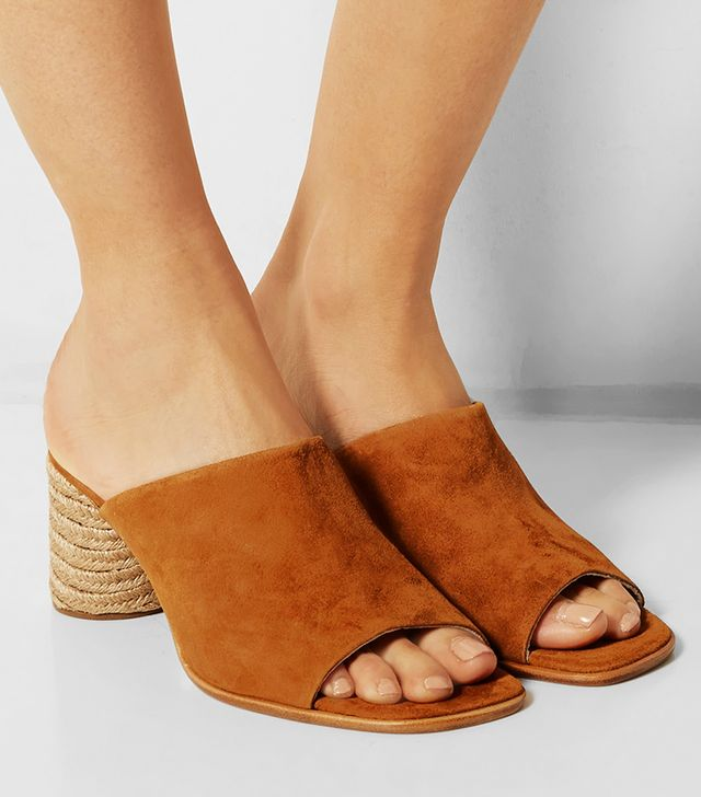 Paloma Barcelo Suede Mules