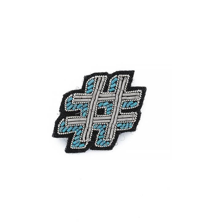 Macon & Lesquoy Hashtag Pin