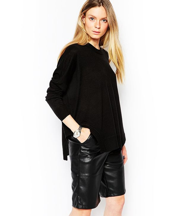 d.RA Oversized Sweater With Cut Out Detail