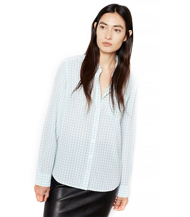 Equipment Brett Western Gingham Shirt