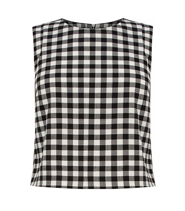 Oasis Gingham Shell Top