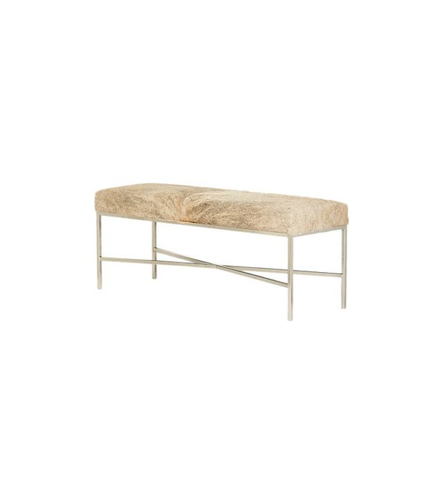 Outpost Original Cow Hide Bench