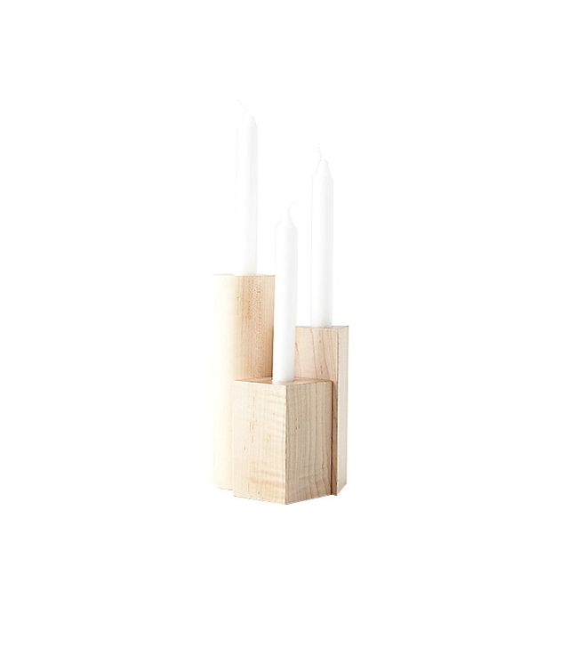 Fort Makers Geometry Set Candlestick Holders