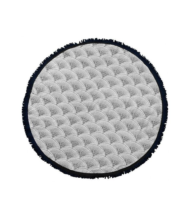 The Beach People The Amaroo Hand Drawn Round Towel