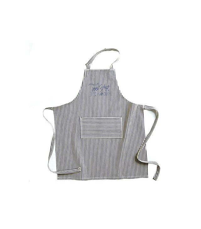 West Elm Ticking Stripe BBQ Apron