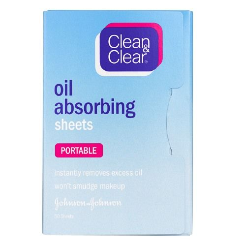 Clean & Clear Oil-Absorbing Sheets