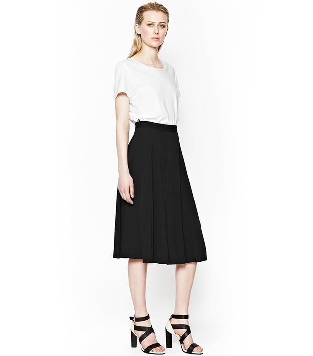 French Connection Cassie Drape Full Skirt