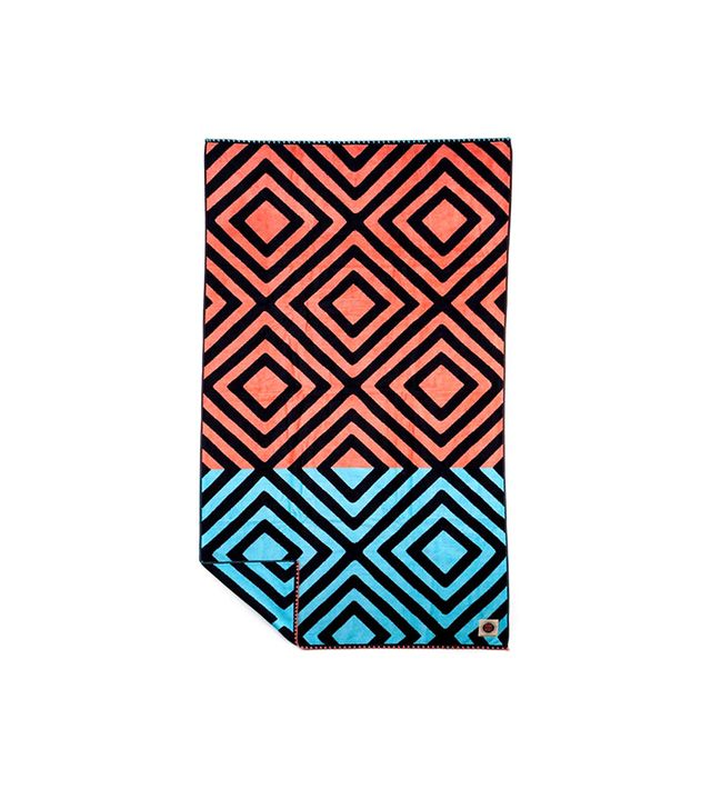 Ruby Mint Colony Beach Towel