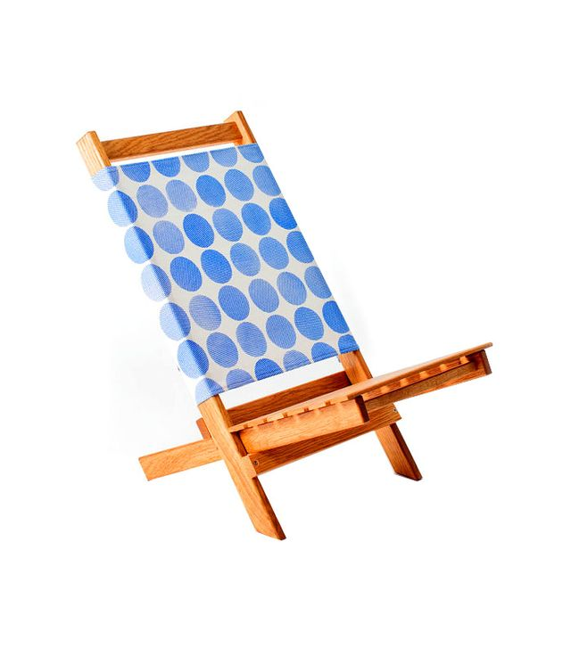 Gallant and Jones Boulders Blue Beach Chair
