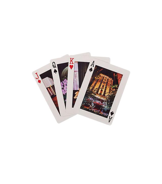 Kate Spade New York Sunset Tower Hotel Playing Cards