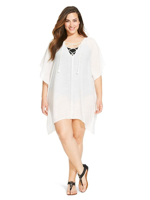 Ava & Viv Plus Size Swim Cover-Up