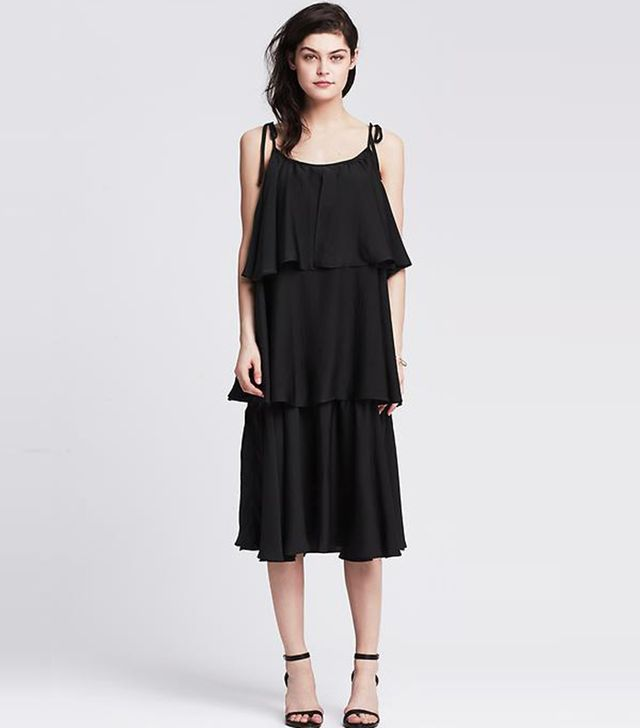 Banana Republic Ruffle Patio Dress