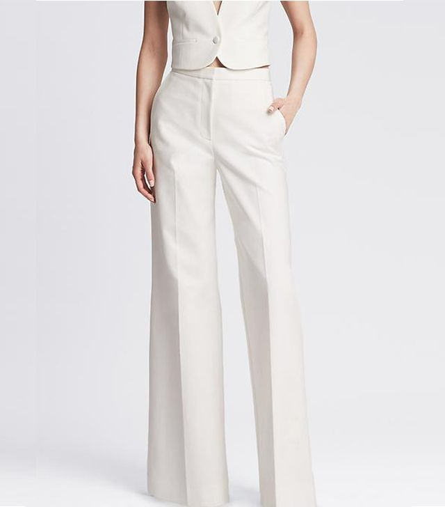 Banana Republic Tailored Wide-Leg Pants