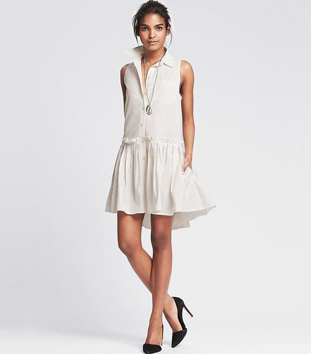 Banana Republic High/Low Shirtdress
