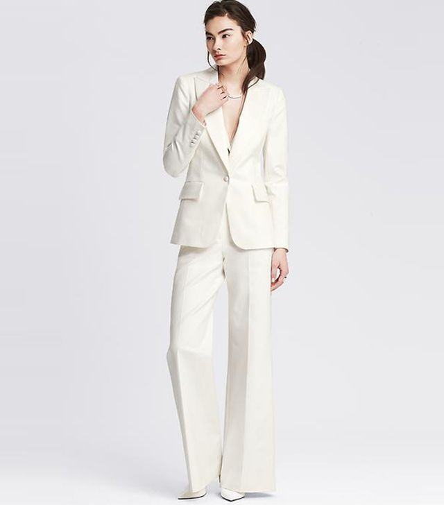 Banana Republic Tailored One-Button Blazer