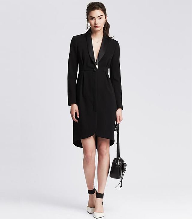 Banana Republic Tuxedo Dress