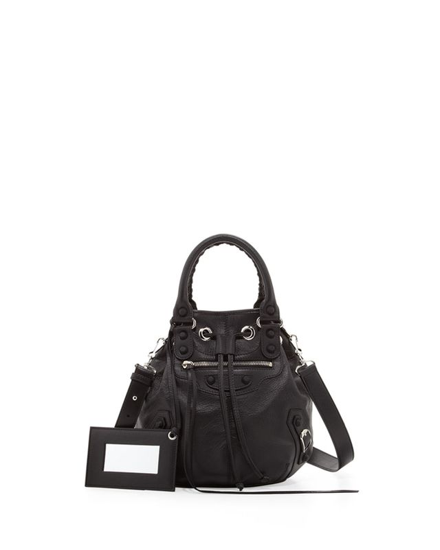 Balenciaga Classic Mini Pompon Bag