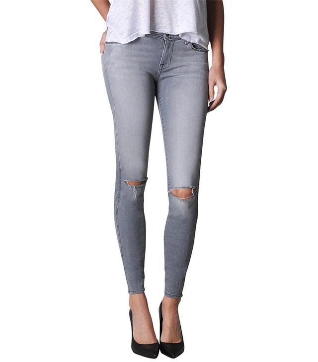 Fidelity Denim Belvedere Crop Zen Rocket Skinny Jeans